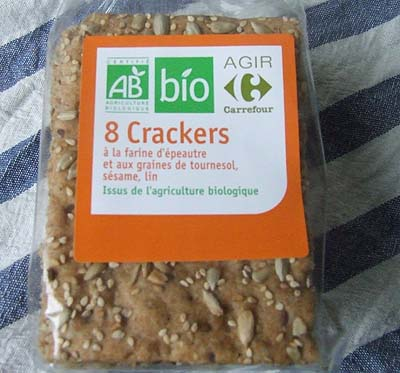 Crackers aux graines