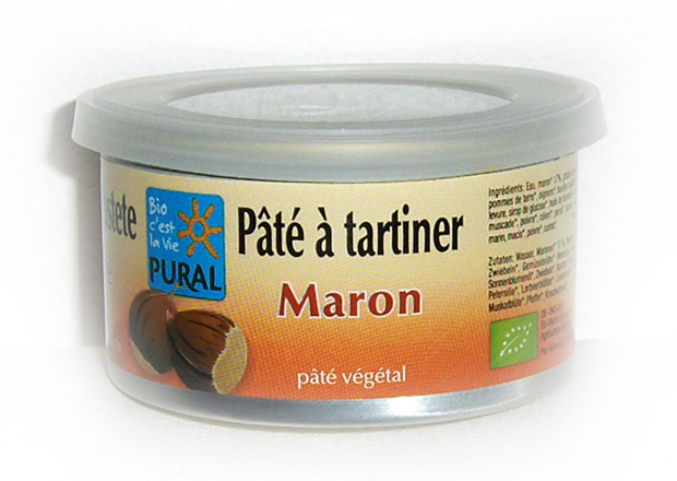 P�t� � tartiner - Marron