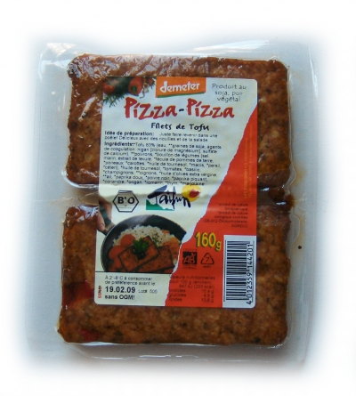 Pizza-Pizza (Filets de tofu)